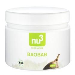 nu3 Pure, organic baobab powder