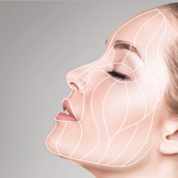 Combined procedures for cervicofacial lifts in the face rejuvenation process