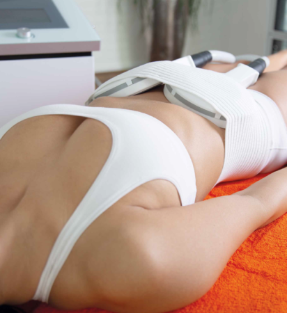 """Body shaping with """"high energy inductive treatment"""""""