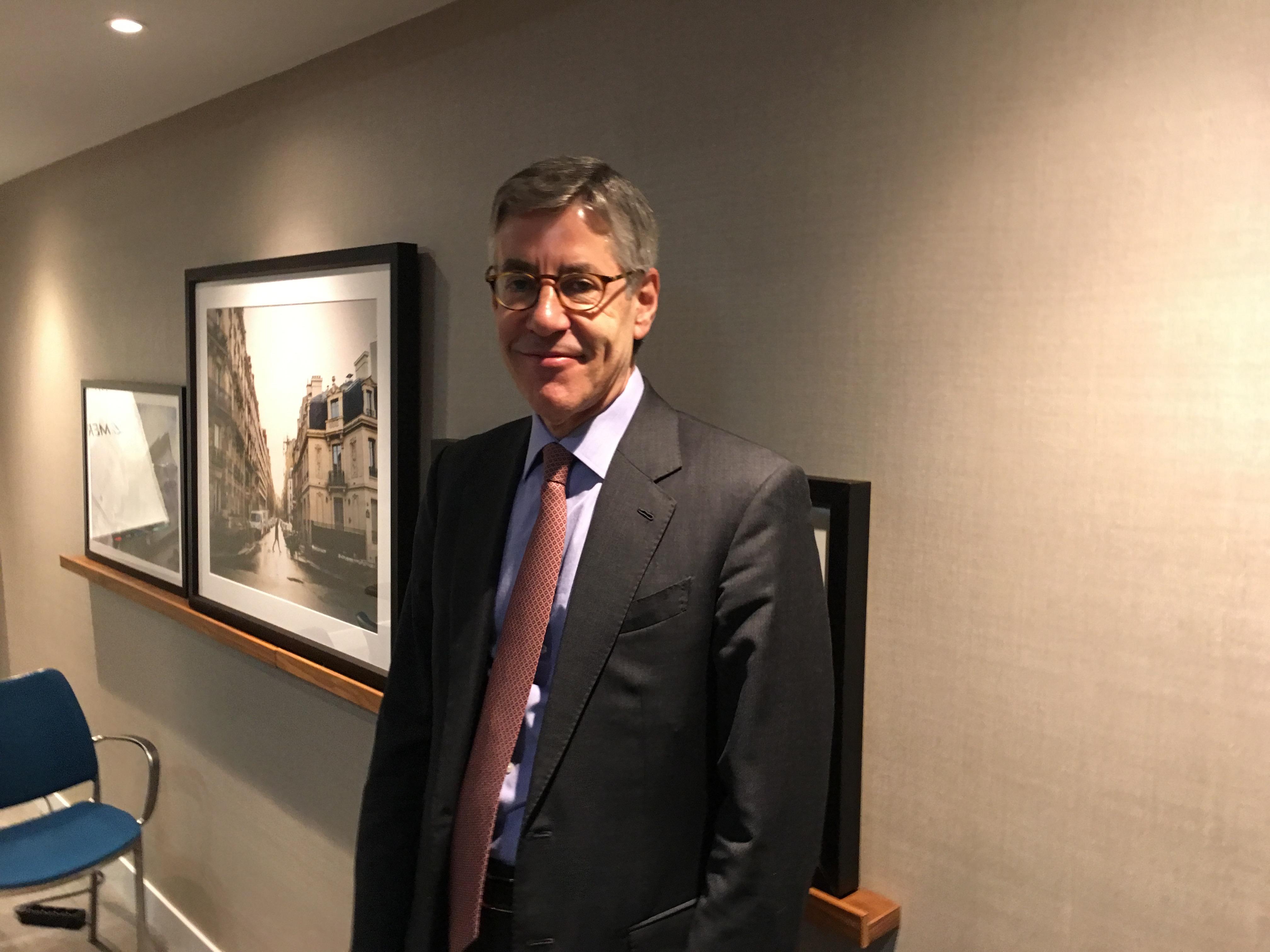 Philip Burchard, CEO Merz Aesthetics